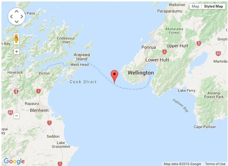 Cook Strait Swim